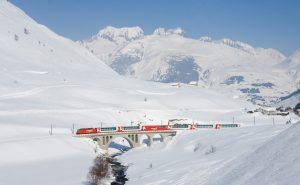 The Glacier Express, Switzerland, most scenic train journeys in europe