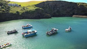 Port Isaac Bay Cornwall, best kayaking routes in the UK