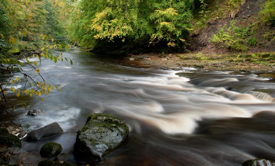 River Allen rapids