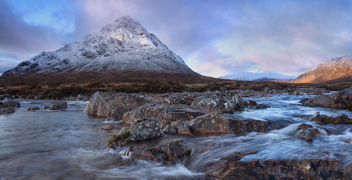 River etive in Scotland one of the best kayaking routes in the UK