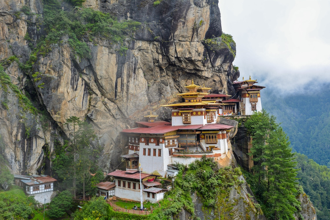 tiger's nest monastery on the DRUK PATH TREK, ONE OF THE MOST ICONIC himalayan treks