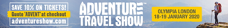 Adventure Travel Show Banner