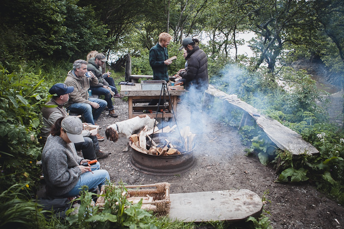 A weekend of wilderness in cornwall at camp filson