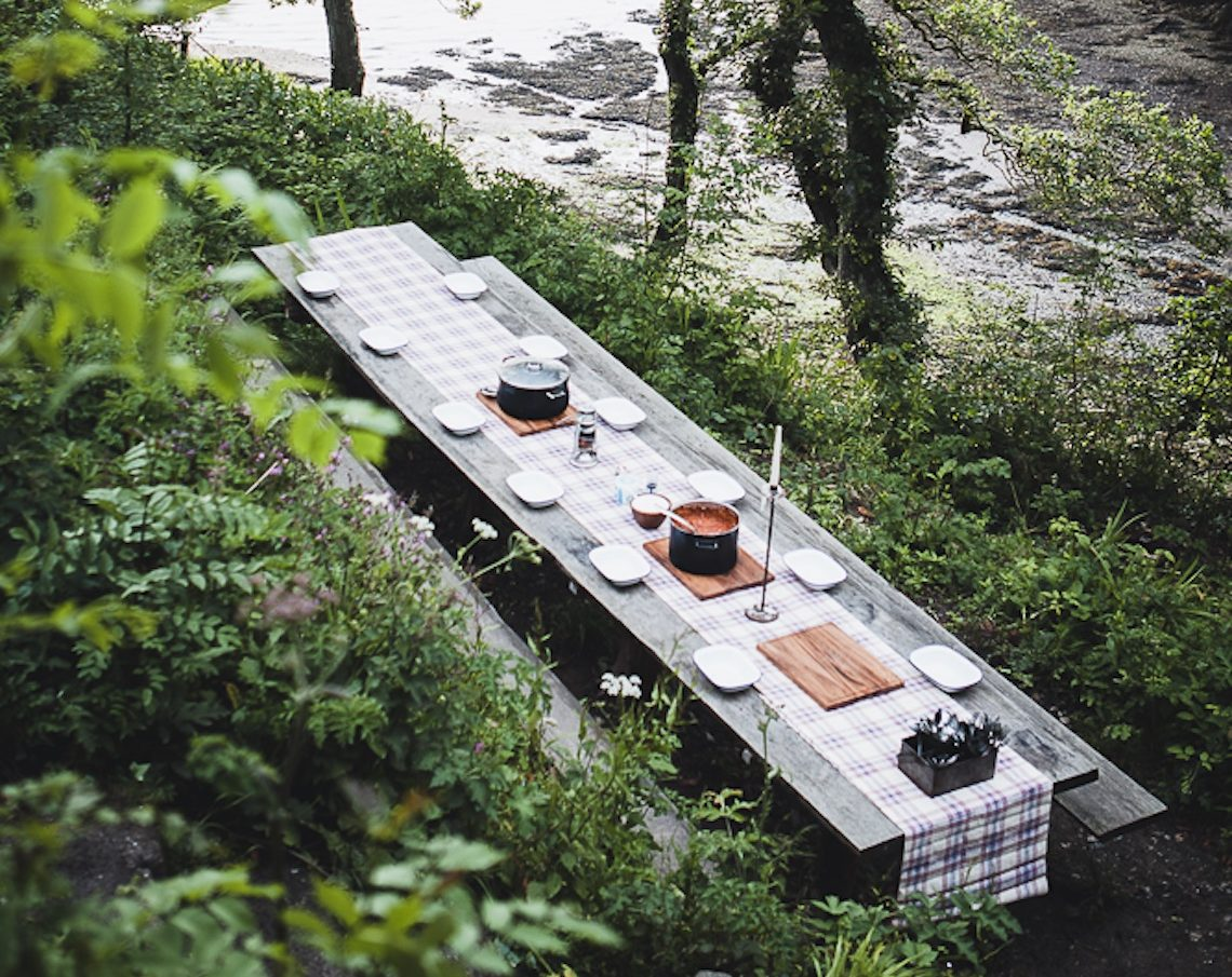 a weekend of wilderness at camp filson in cornwall