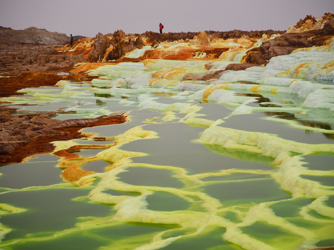 Danakil Depression Ethiopia worlds most unique landscapes