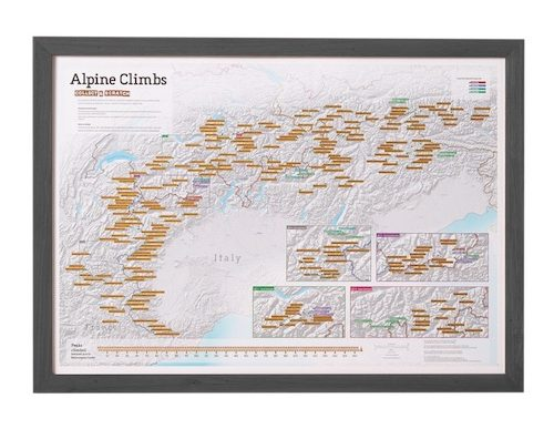 Maps pinboard