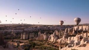 Cappadocia fairy chimneys and balloons, world's most unique landscapes