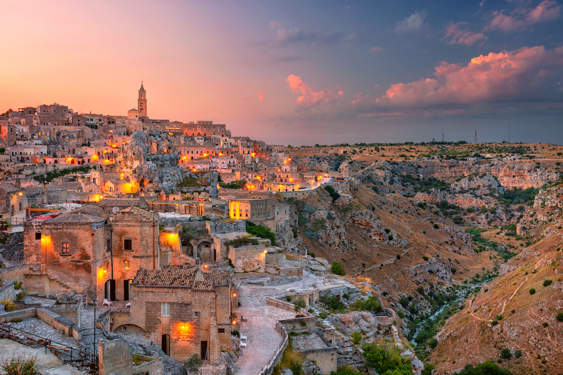 matera city of caves
