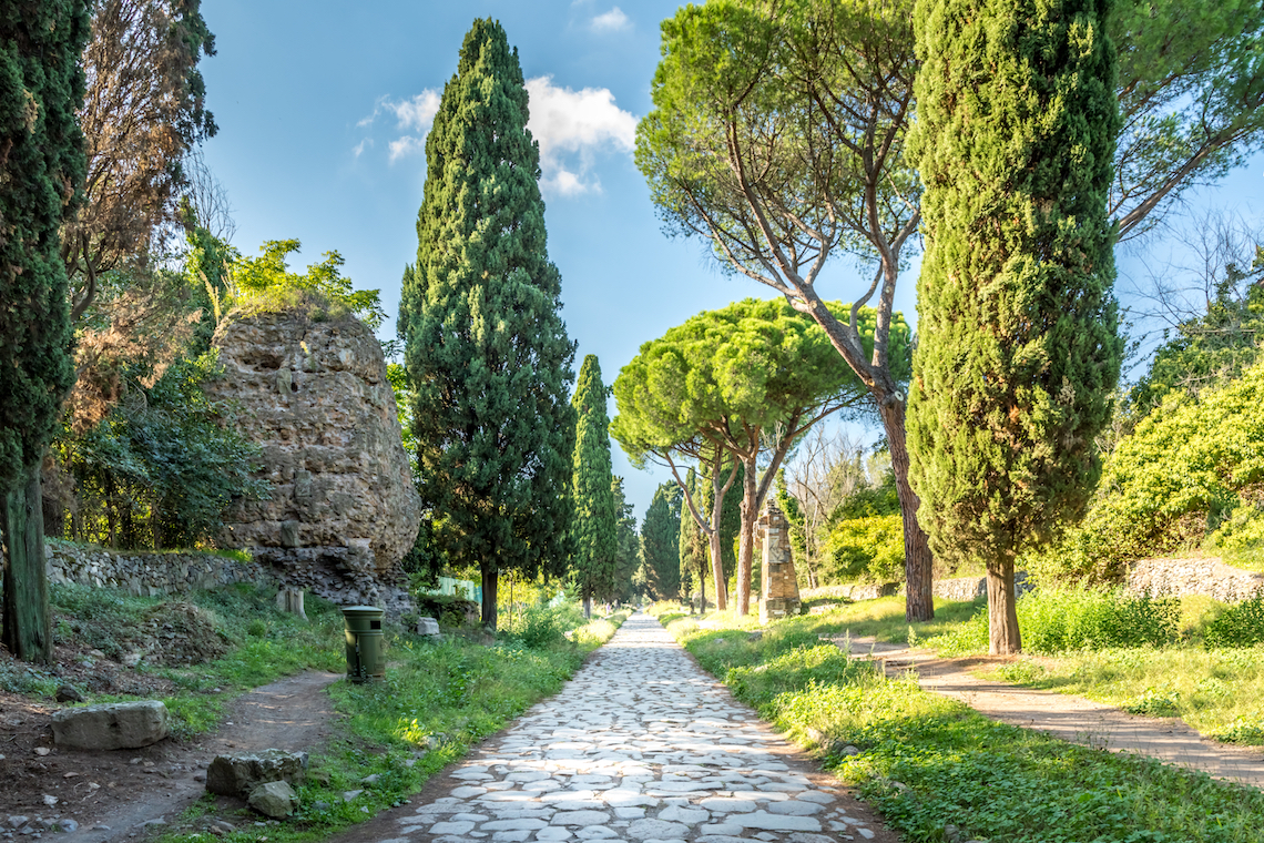 Walking the Appian way, best things to do in central Italy
