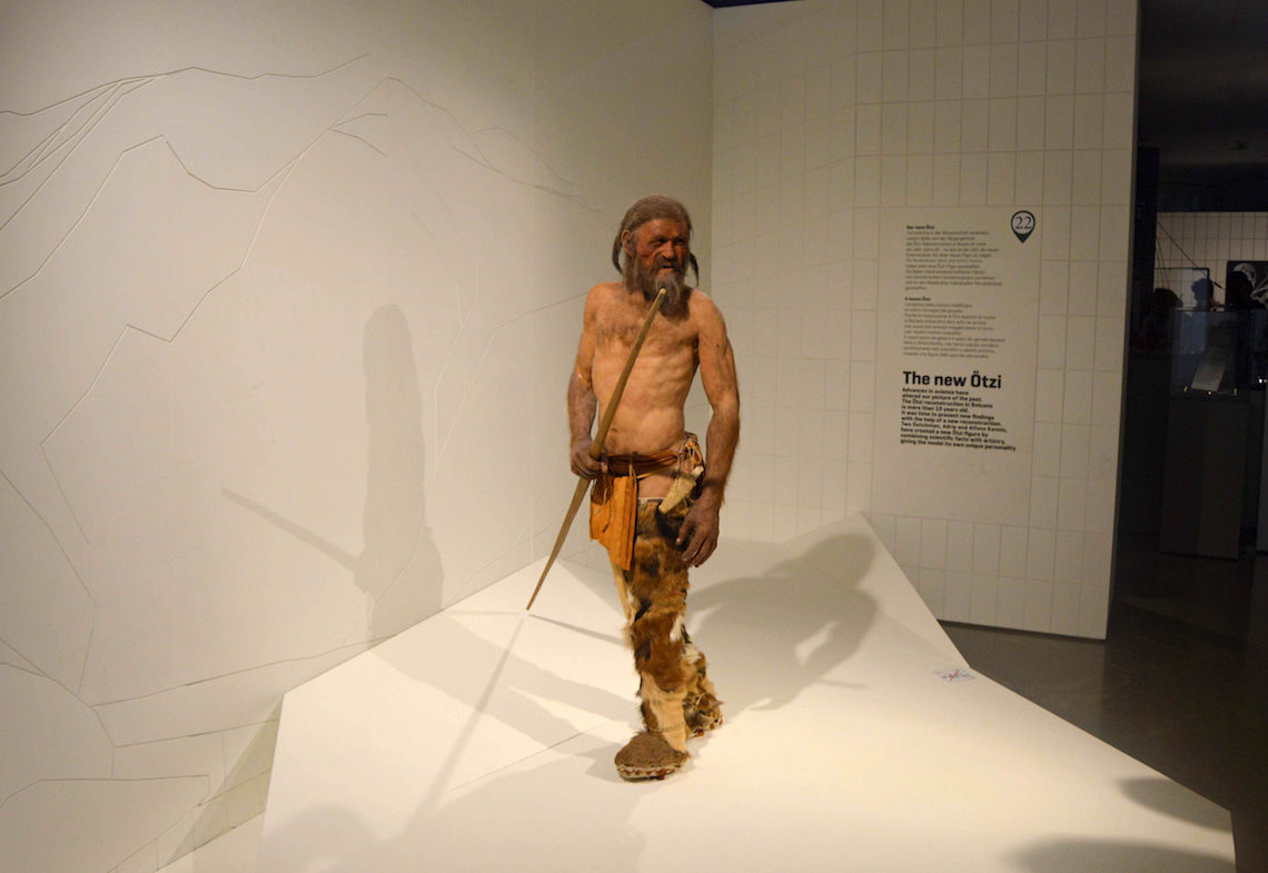 Otzi the Iceman unusual adventures in the Italian Dolomites
