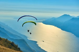 paragliding one of the best adventures in Northern Italy