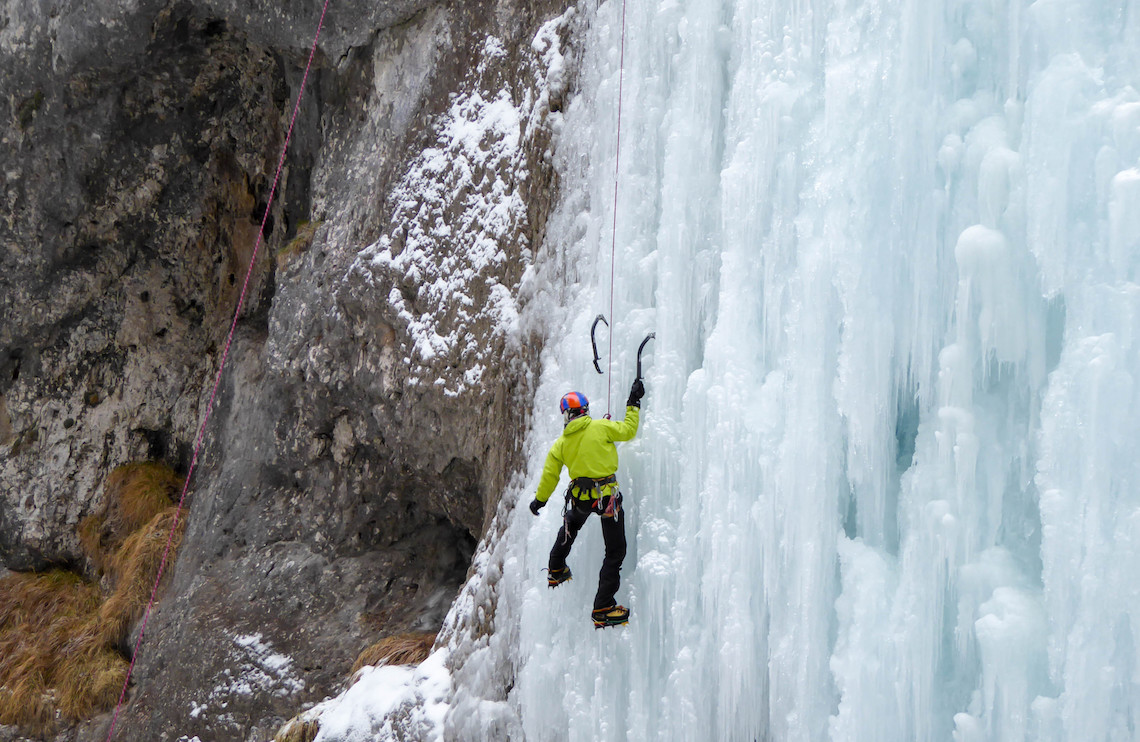 Ice climbing best adventures in Northern Italy