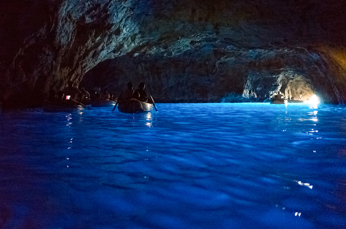 Blue Grotto Capri, unique adventures to have in the Italian Islands