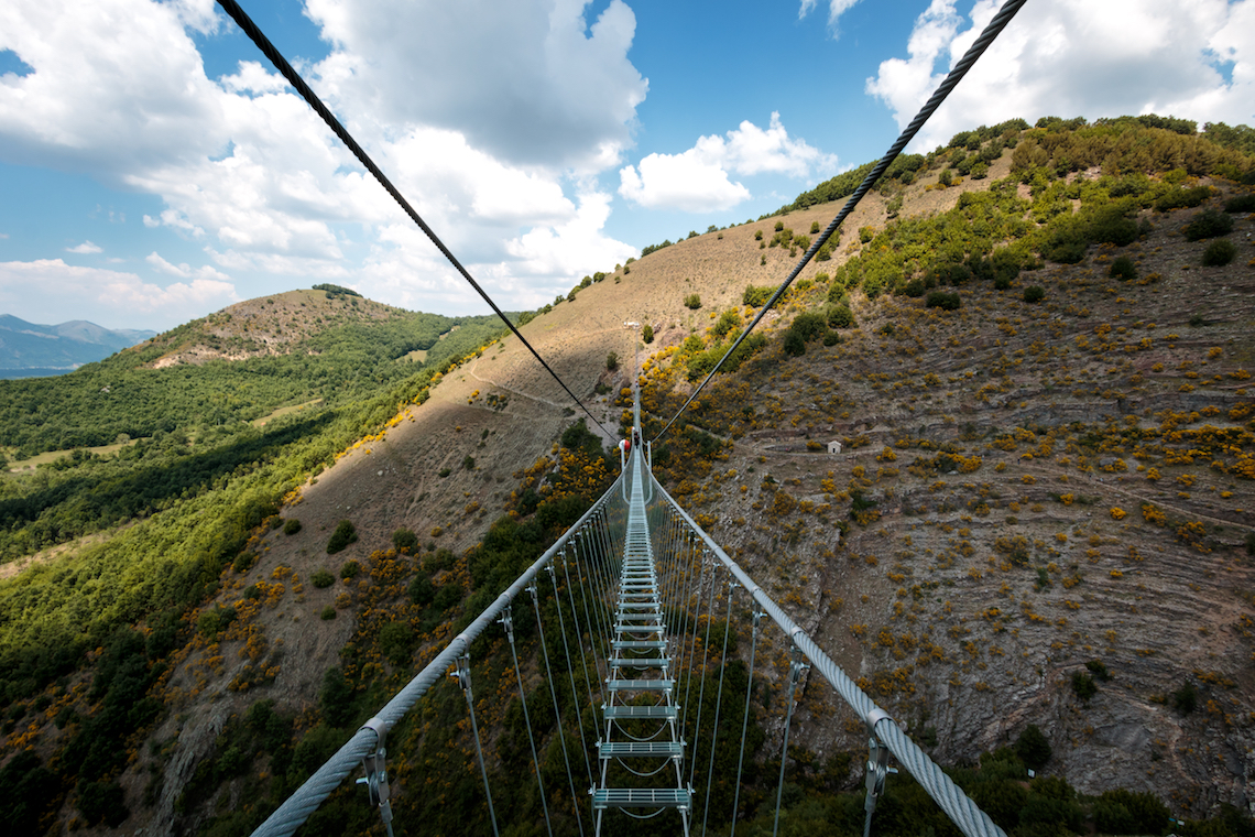 bridge to the moon, most unusual adventures in southern italy