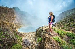 Trekking in Dominica - boiling lake hike