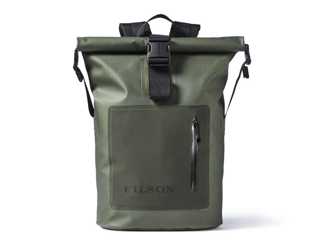 Filson dry roll backpack