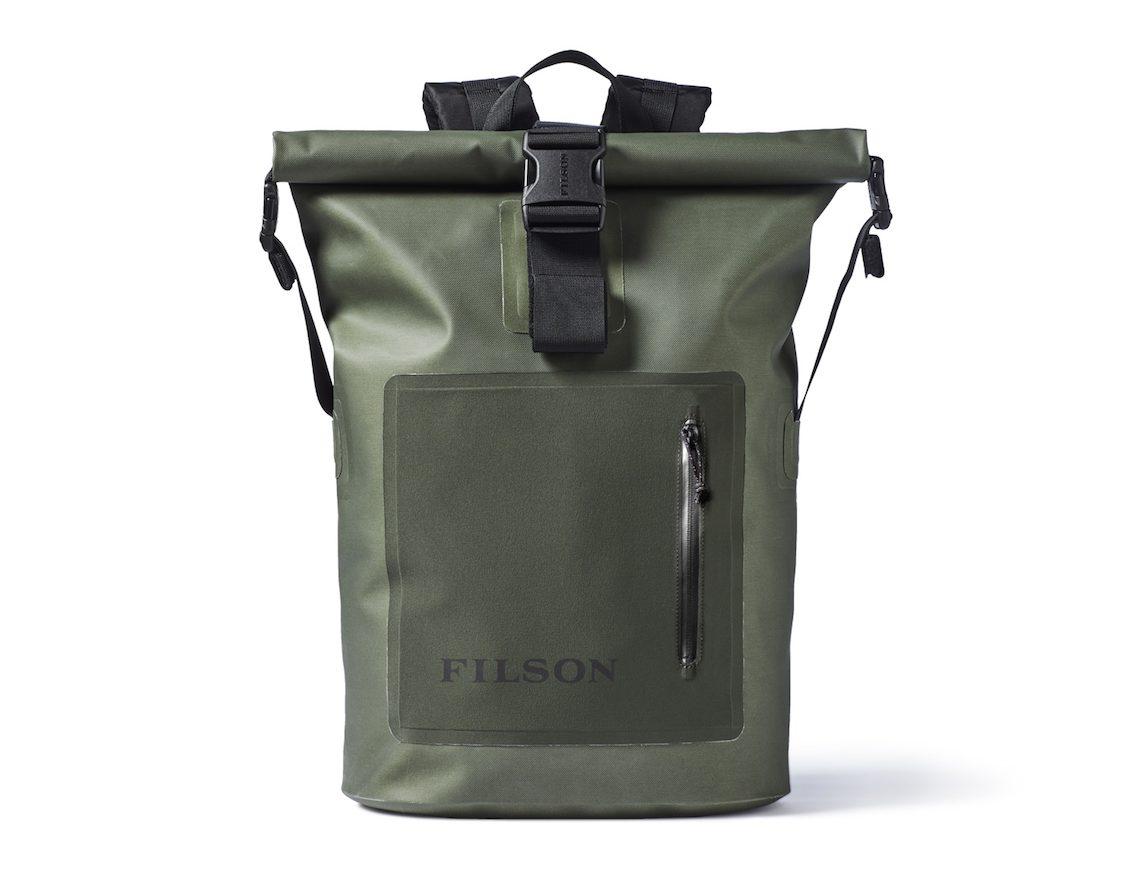 Filson dry roll backpack