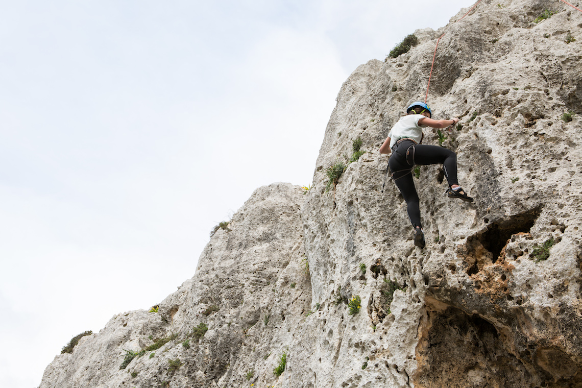rock climbing Gozo, best things to do in Malta