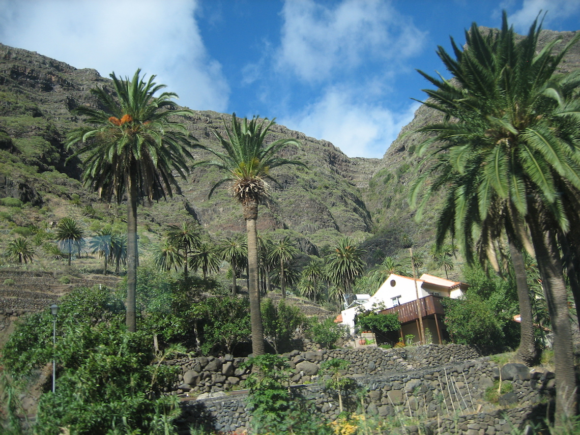 la gomera isalnd best hiing in the canary islands