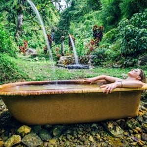 bathing in the forest - Dominica