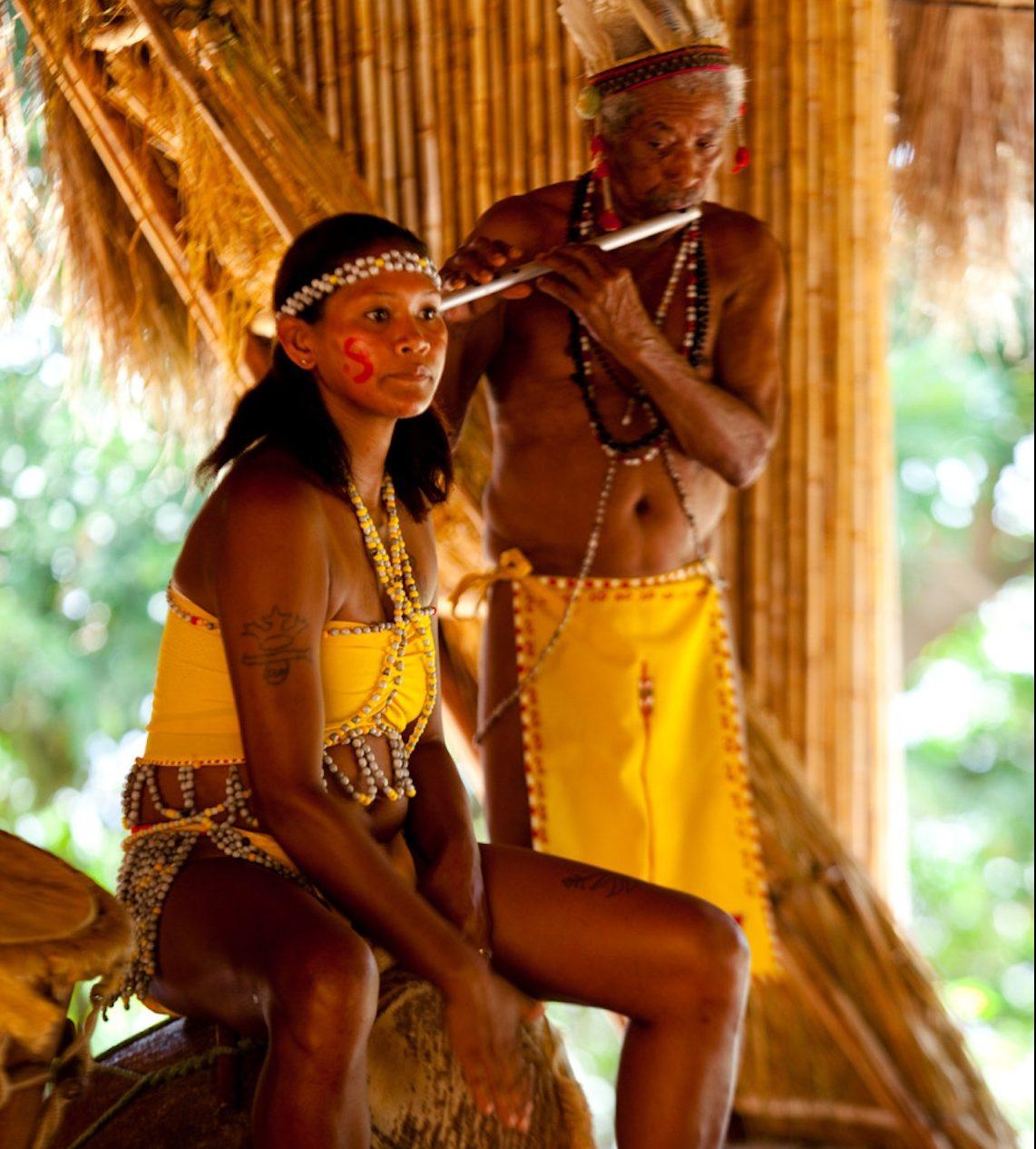 locals in Dominica