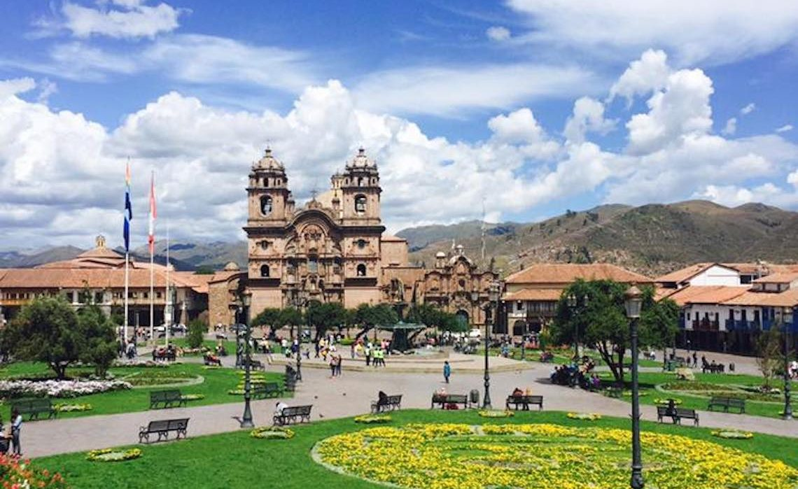 the Town of Cusco in Peru where you can acclimatise before hiking the Inca Trail