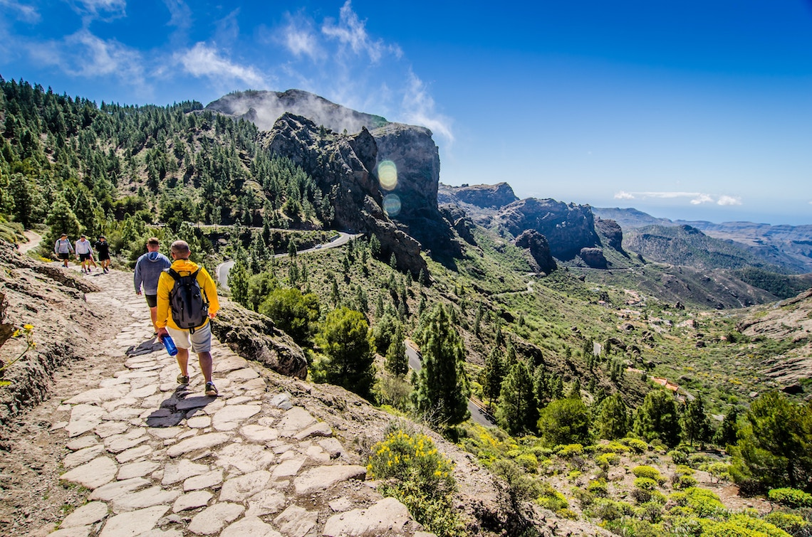 Hiking, best things to do in Gran Canaria