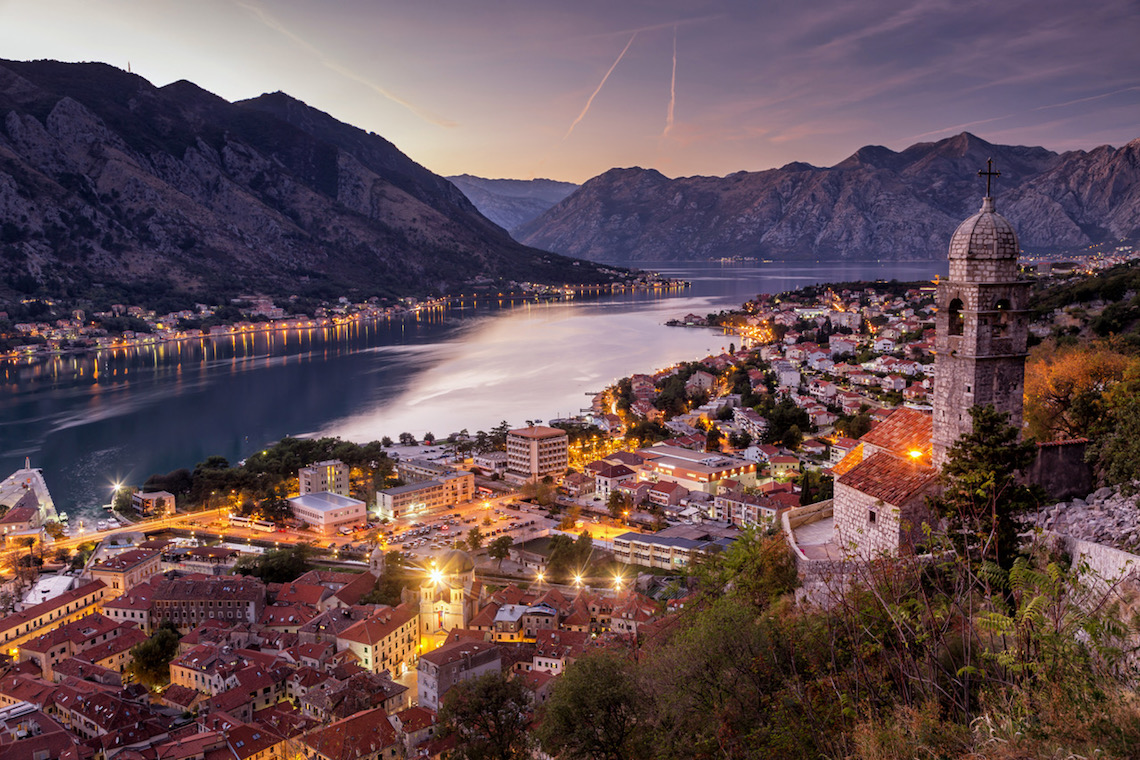 historic town of Kotor in Montenegro
