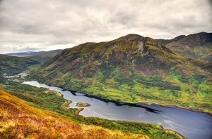 Loch Leven in Scotland, best traffic-free cycle routes in the UK