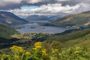 Loch Leven in Scotland best traffic-free cycle routes in the UK