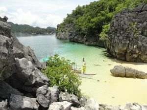 Matukad island, one of the best islands in the Philippines for adventure