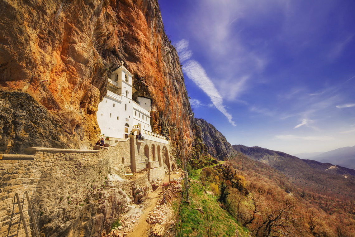 incredible ostrog monastery discovered during 72 hours in Montenegro