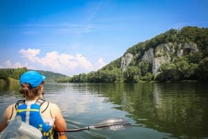 Kayaking through Europe