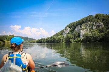 Kayaking through Europe