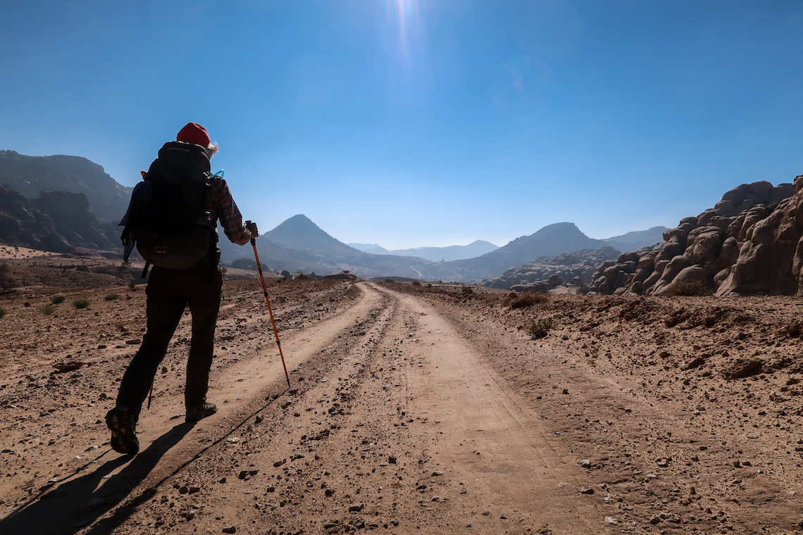 hiking the Jordan Trail