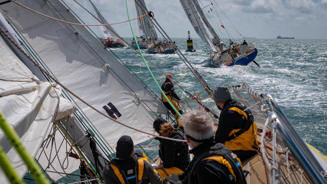 How to sail around the world clipper round the world yacht race