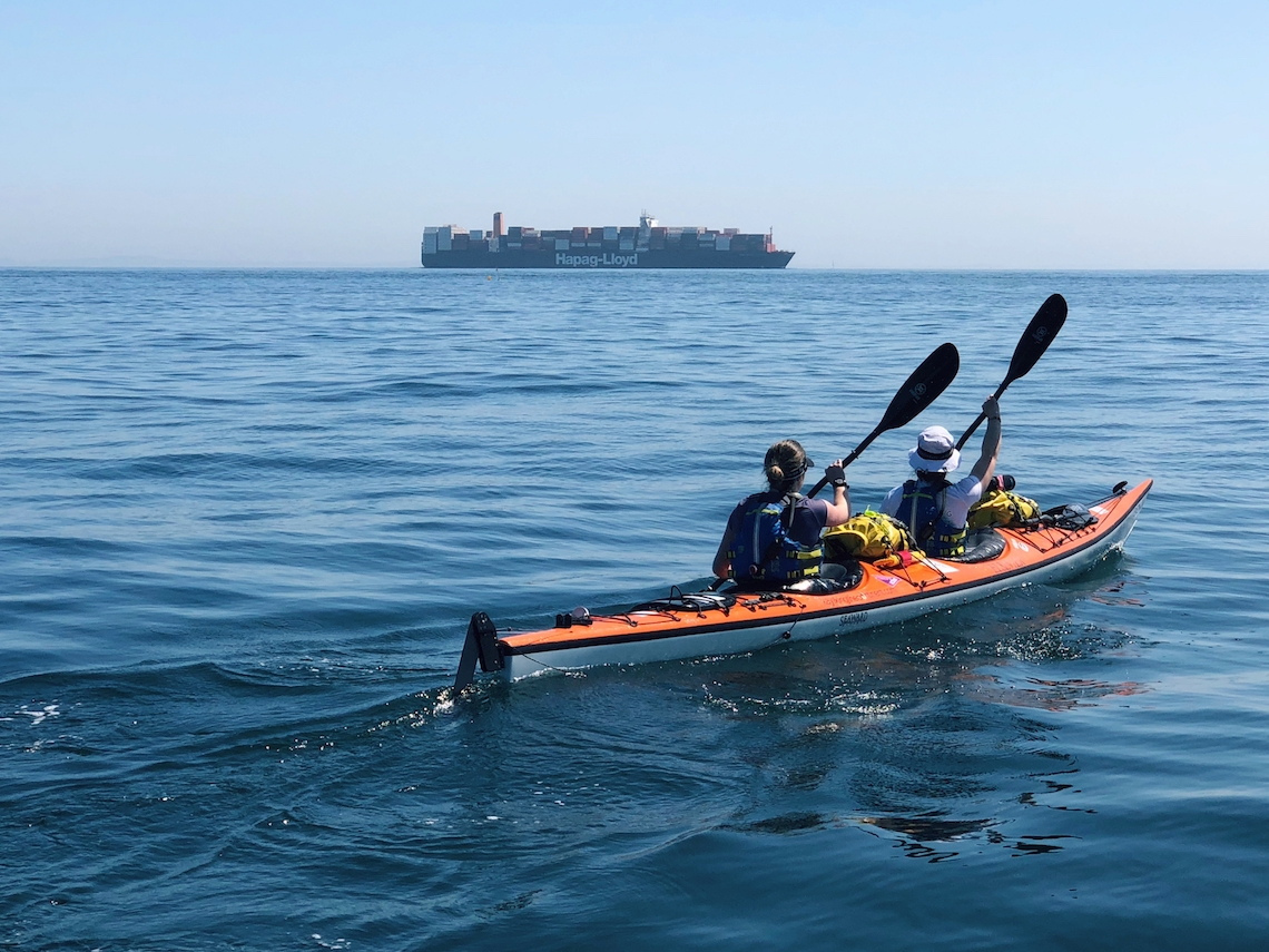 Channel Crossing kayaking through europe