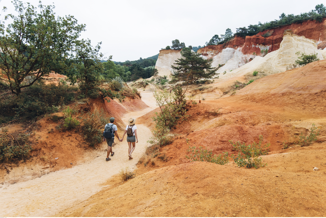 Colorado Provencal hike best hikes in the Luberon