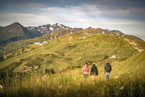 HIkers in St Anton am Arlberg