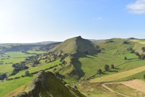 Dragon's Back in the peak district