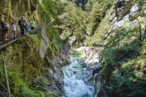 Kaiser gorge, one of the best hikes in Alpbachtal