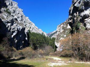 Celano Gorge