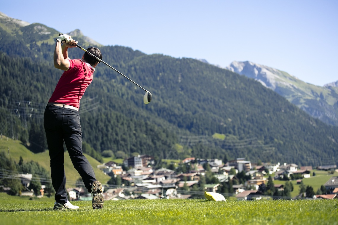 Golfing in St Anton am Arlberg