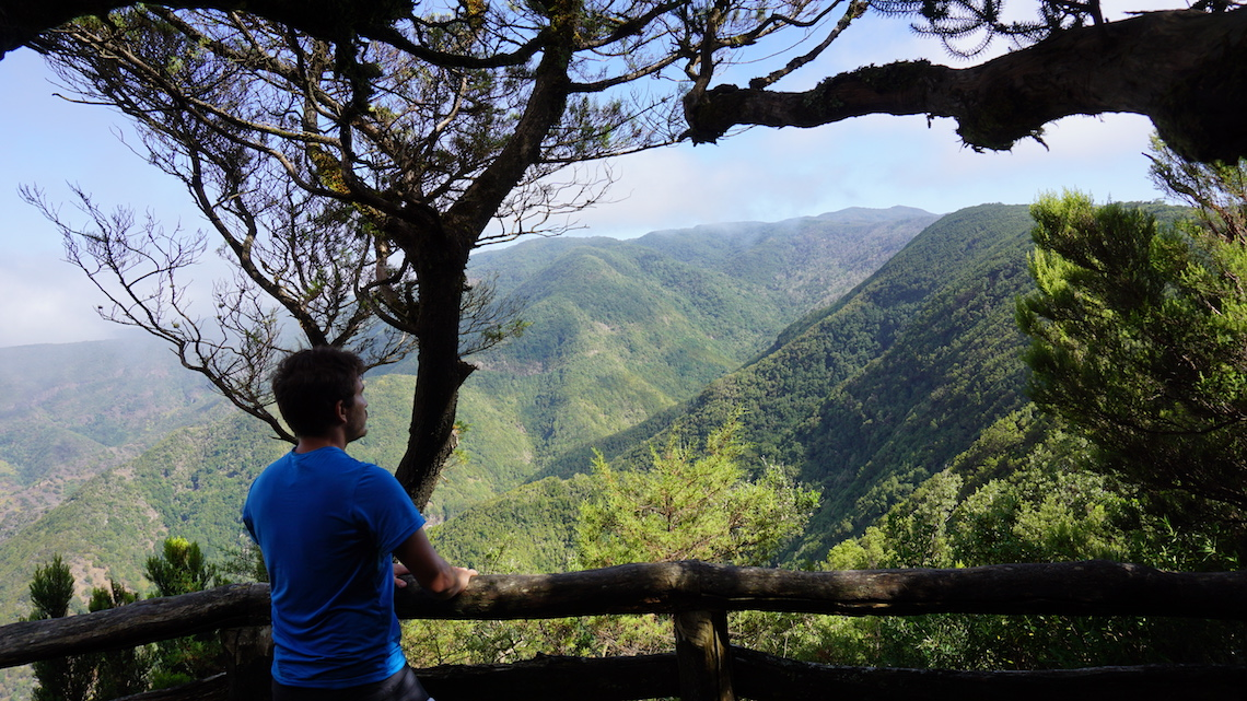 La gomera best hiking in the canary islands