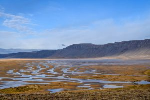 Red beach in the westfjords