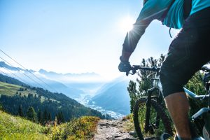 Cycling in St Anton am Arlberg