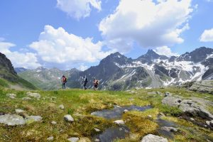 Scenery in St Anton am Arlberg