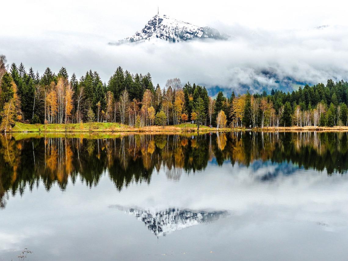 mountains in kitzbuhler