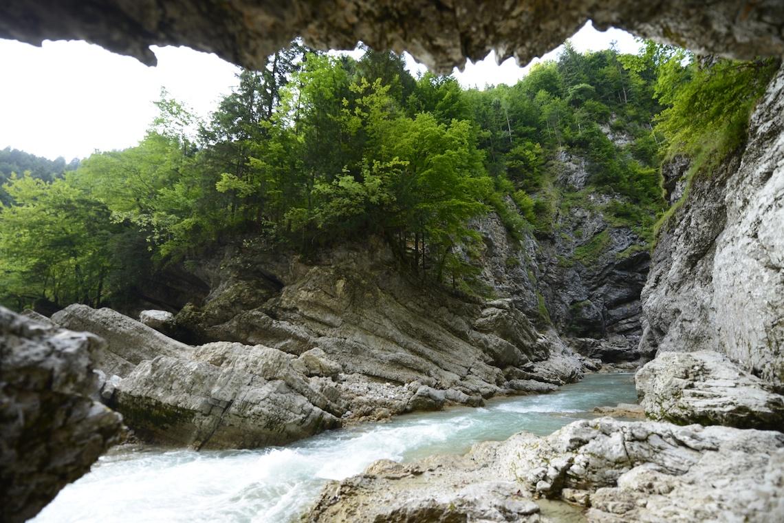 Gorge walking best hikes in Alpbachtal