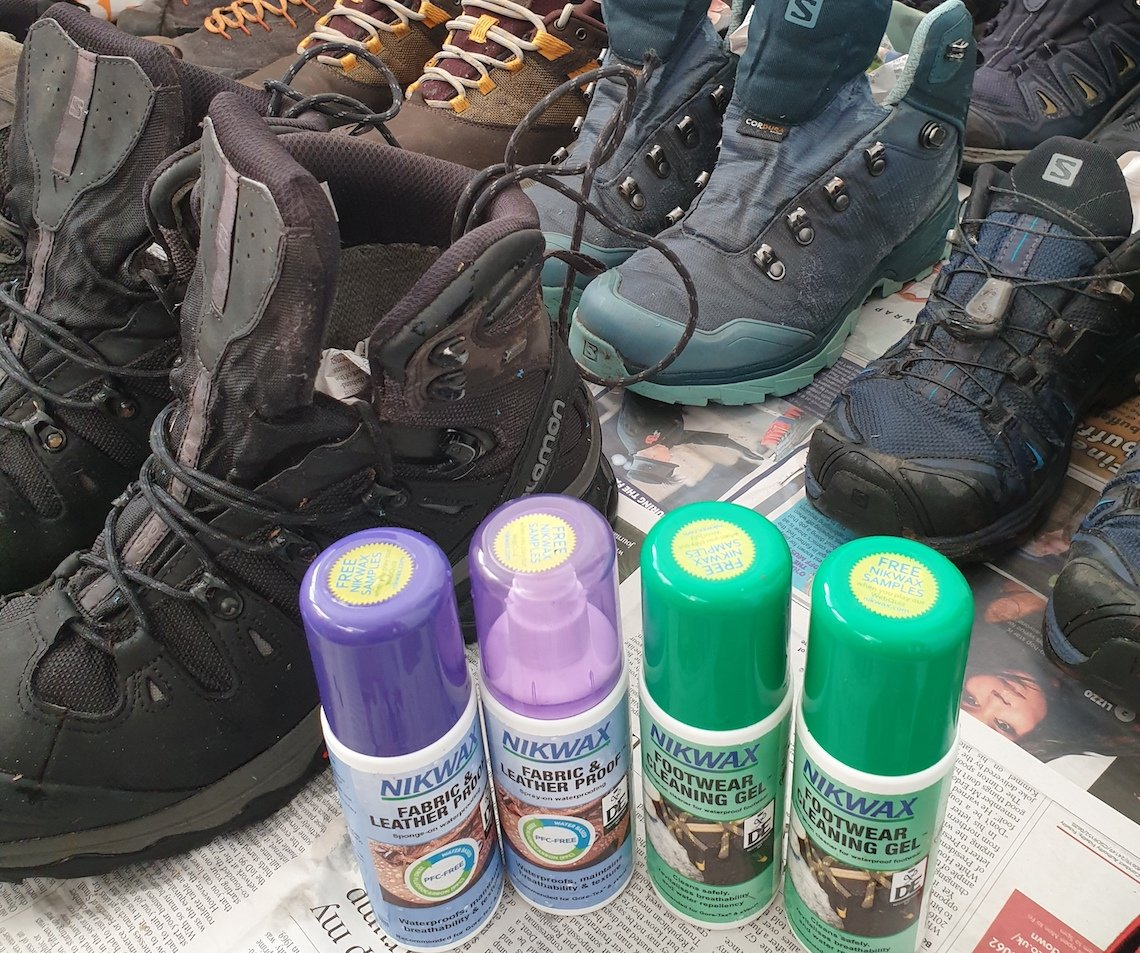 Top Tips on how to clean and re-proof your hiking boots